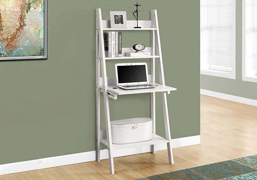 ladder shelf monarch