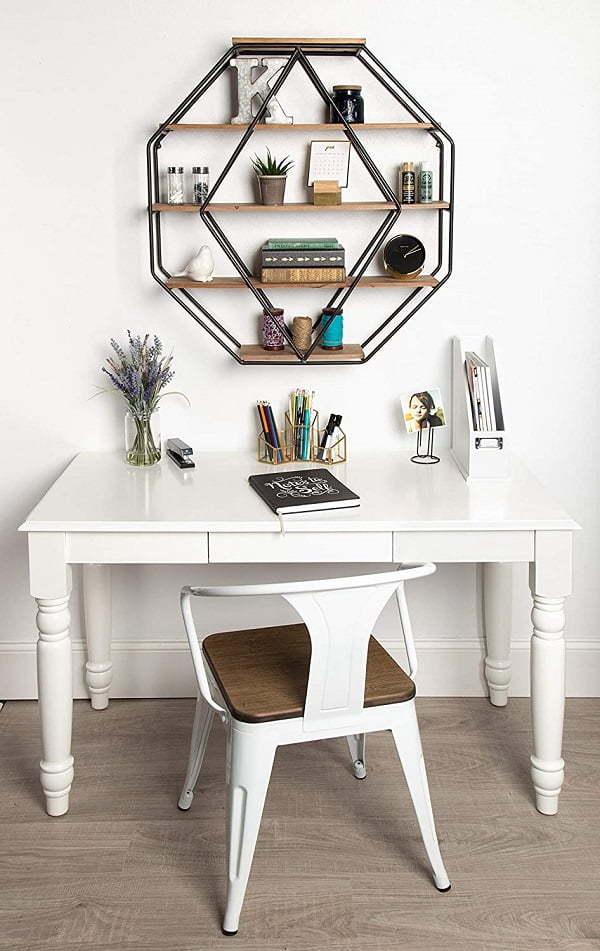 octagon bookshelf