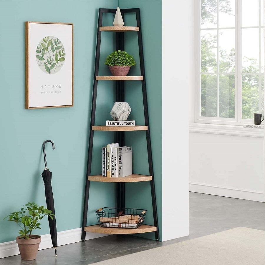 rounded corner bookshelf