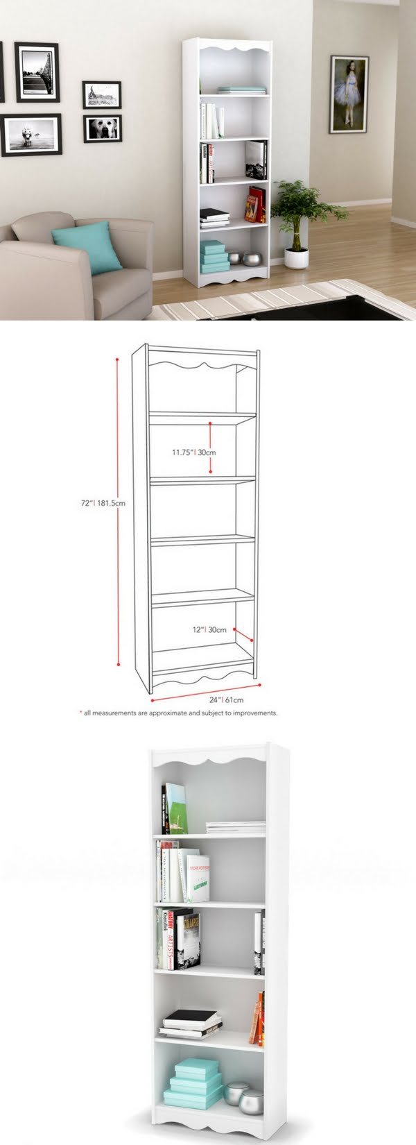 Check out the Sonax Hawthorn Bookcase