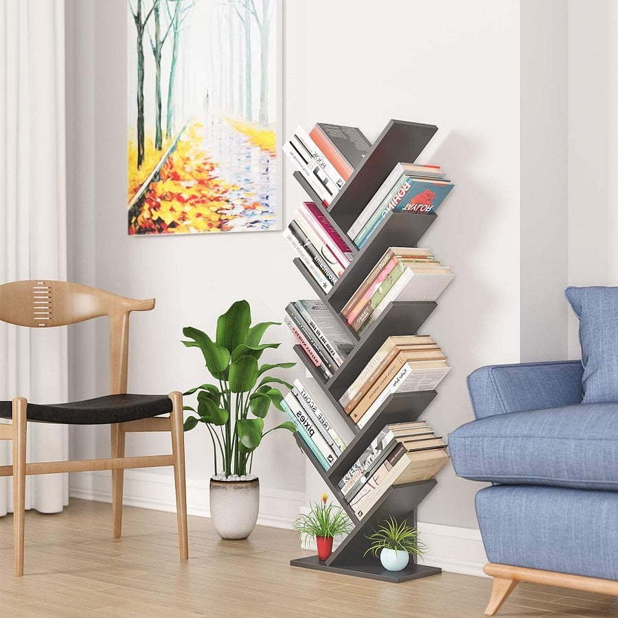 bookshelf for small spaces