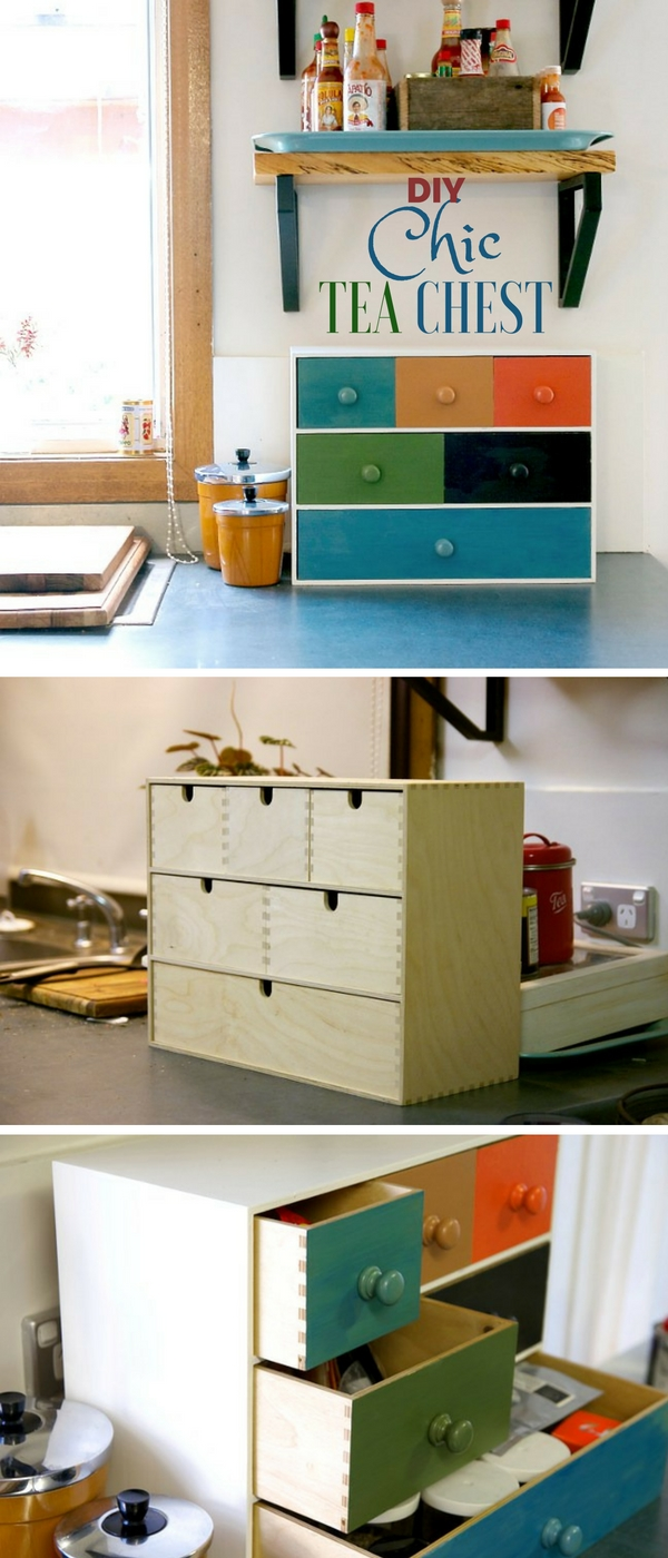 Check out the tutorial: #DIT Chic Tea Chest