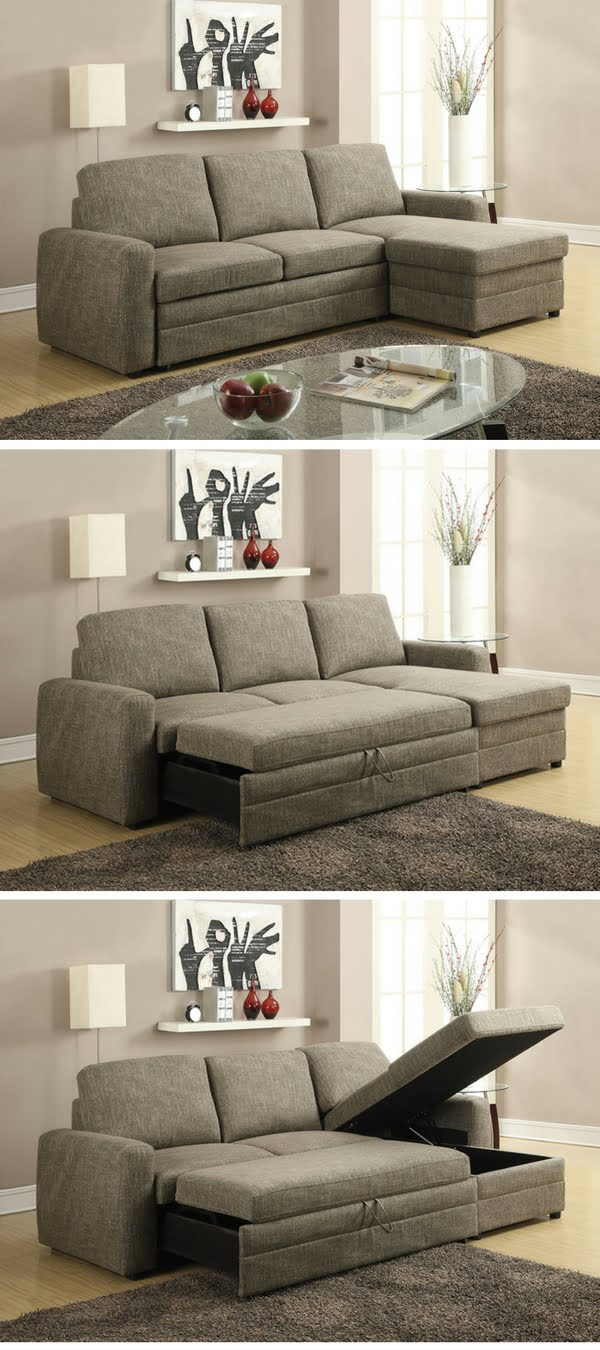 Check Out The Derwyn Storage Sectional Sleeper Sofa   One Of The Top 10 Best  Sleeper
