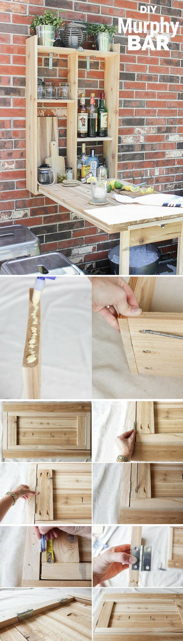 Check out the tutorial: #DIY Murphy Bar