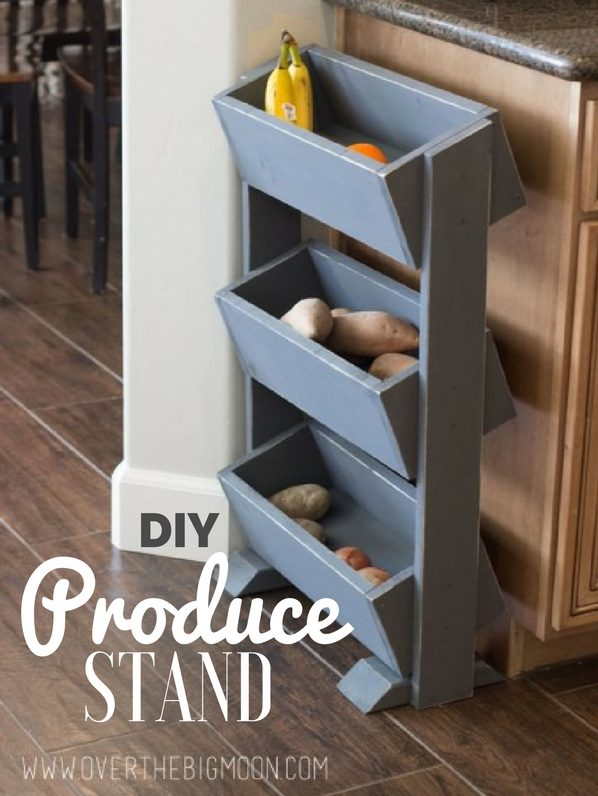 How to make  Produce Stand