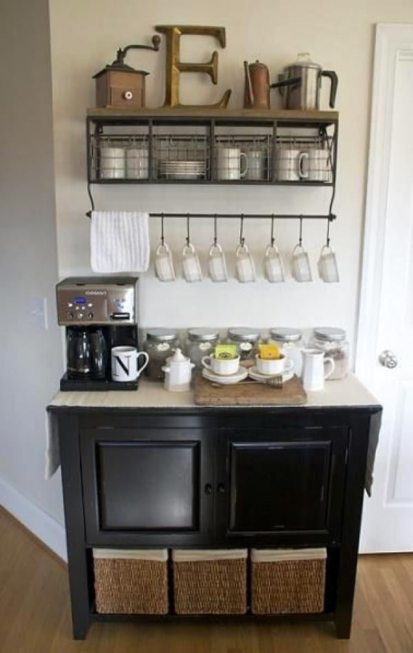 15 Simple And Easy Diy Coffee Station Ideas On A Budget