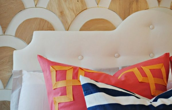 Check out how to build and easy DIY Modern Tufted Headboard