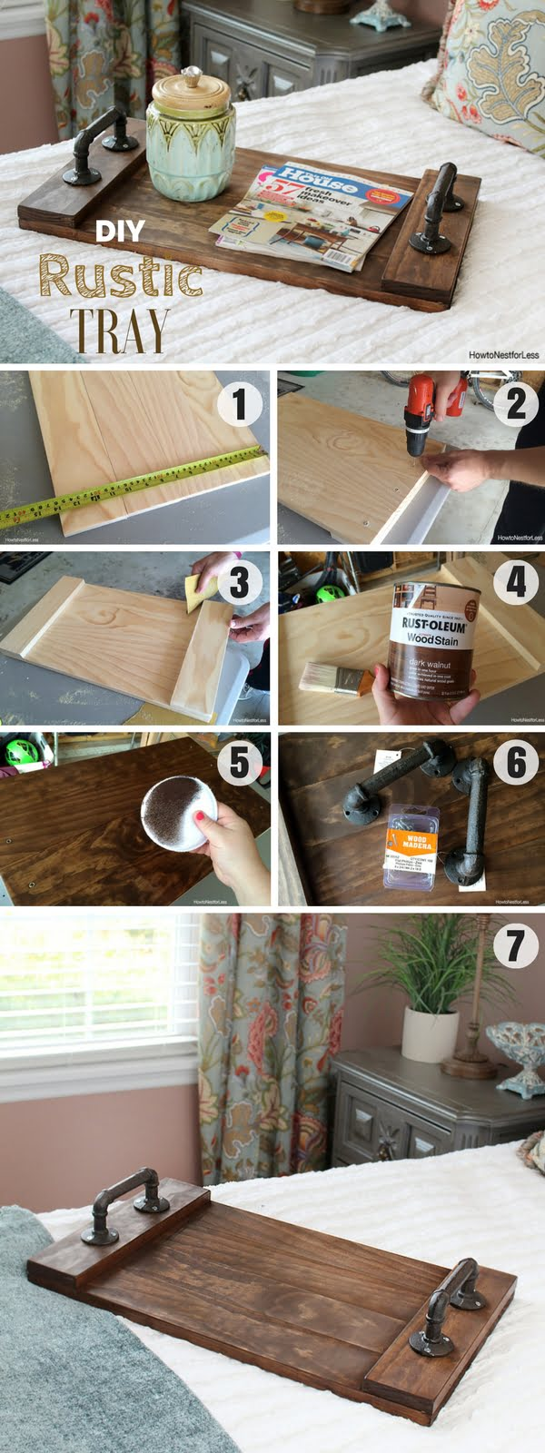 59 Incredibly Simple Rustic Décor Ideas That Can Make Your: 18 Easy DIY Wood Craft Project Ideas On A Budget