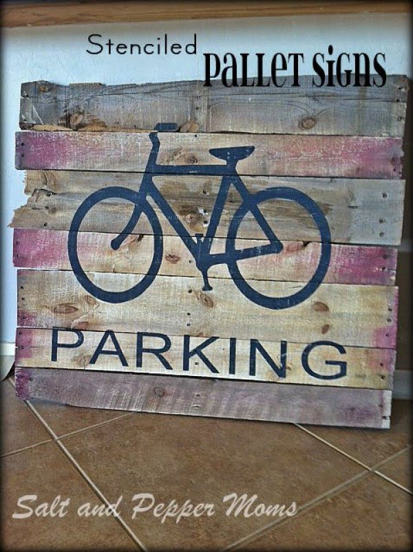 Easy to make DIY pallet wood signs for rustic home decor wall art