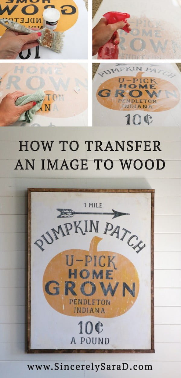 Check out how to make a graphical DIY farmhouse sign for kitchen decor