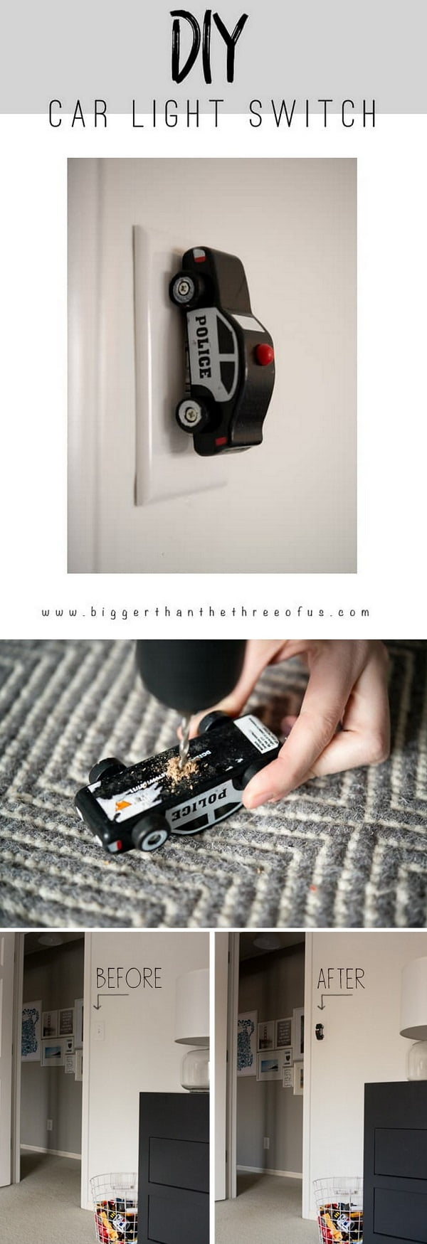 Check out this easy idea on how to make a  tow car light switch for  on a