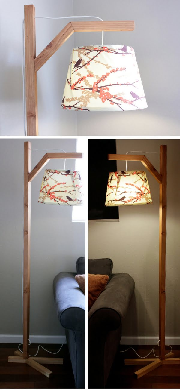 41 Easy Creative Diy Lamp And Lampshade Ideas