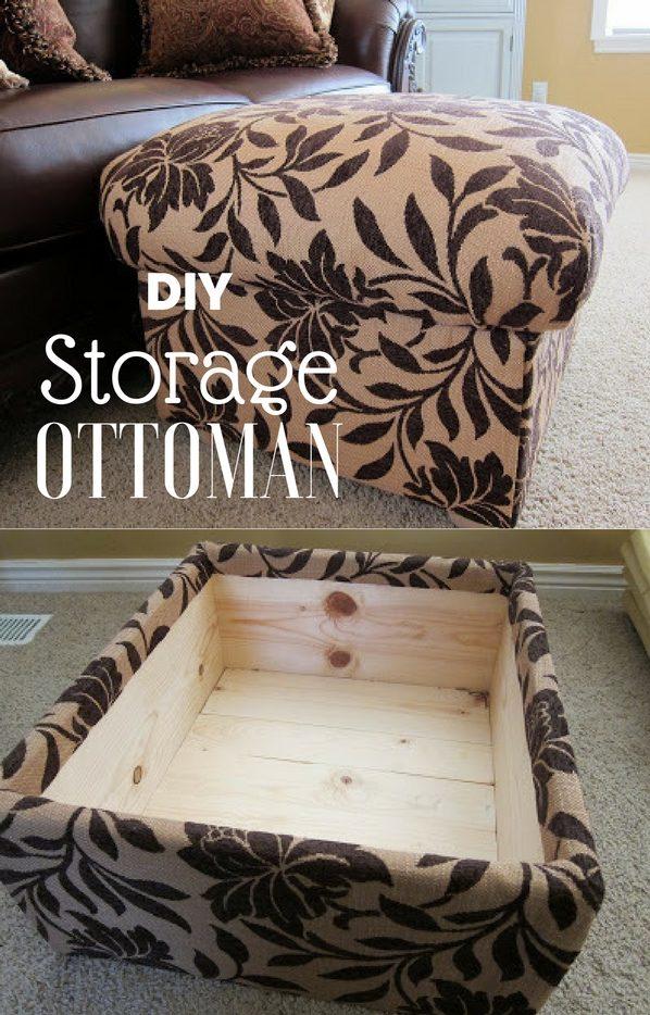 storage ottoman from scratch