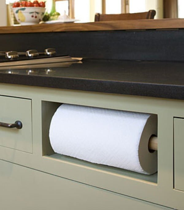 Nice idea for paper towel storage