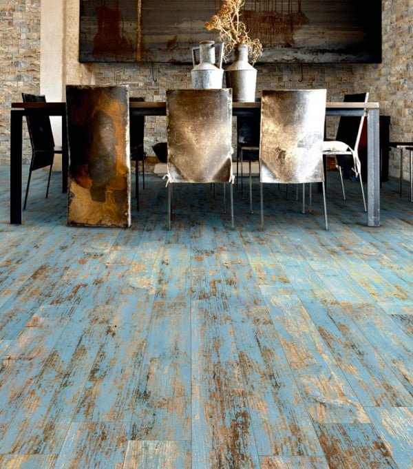Reclaimed Wood Floor #homedecor