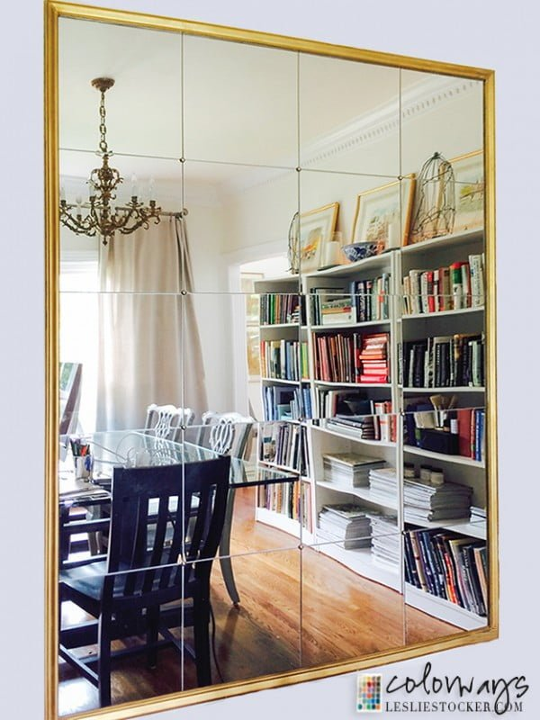 50 Fab DIY Mirror Frames You Can Easily Make Yourself - Check out how to make this DIY Pottery Barn inspired mirror