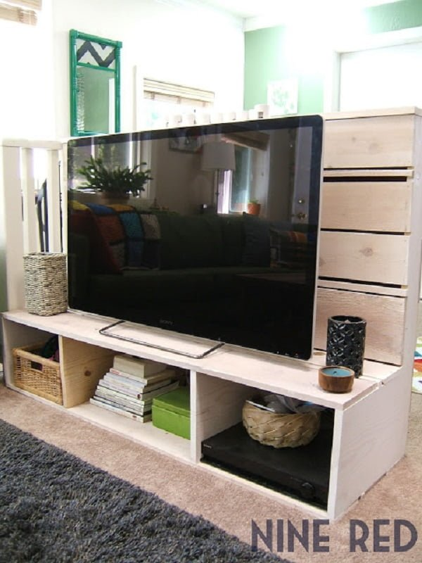 How to build a  TV stand from scratch. Great project! ideas