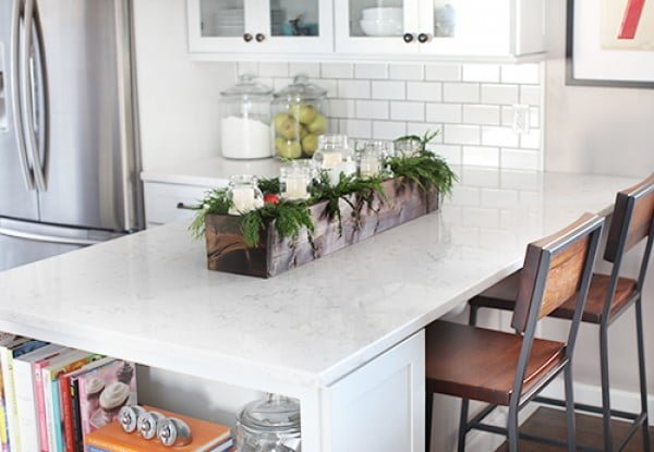 How to build a DIY rustic countertop centerpiece