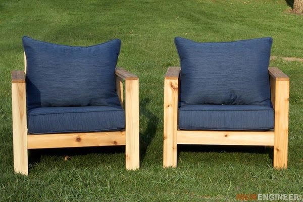 Check out how to build these DIY chairs for your backyard or patio