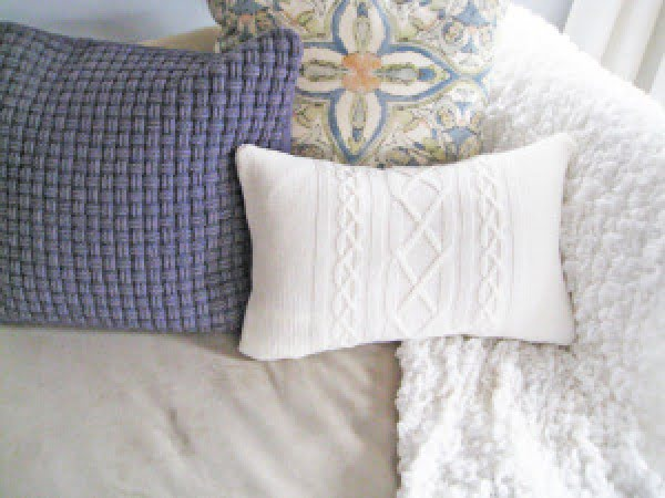 Check out how to make your own DIY sweater pillows @istandarddesign