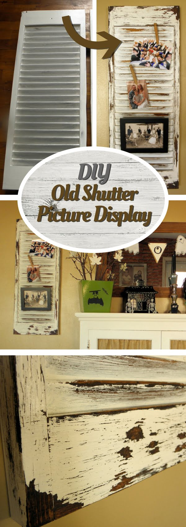 Check out how to make your own DIY shutters for picture display