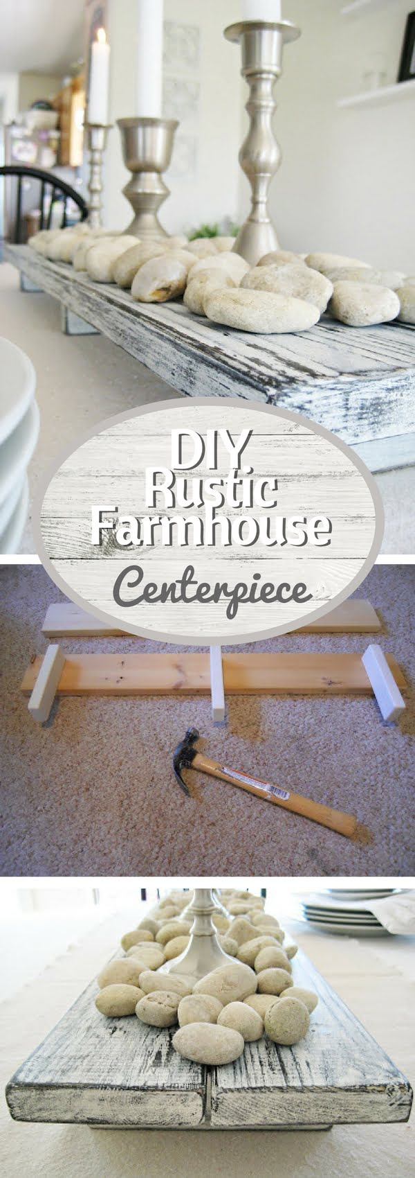 How to build an easy DIY rustic farmhouse centerpiece