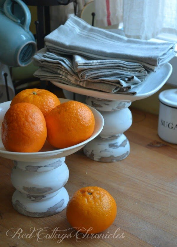 Check out how to make DIY cakestands from thrift store candlesticks @istandarddesign