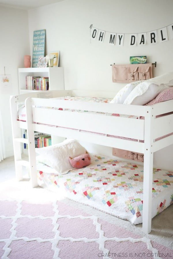 35+ Fun Kids Bedroom Ideas for Small Rooms on Girls Bedroom Ideas For Very Small Rooms  id=78746