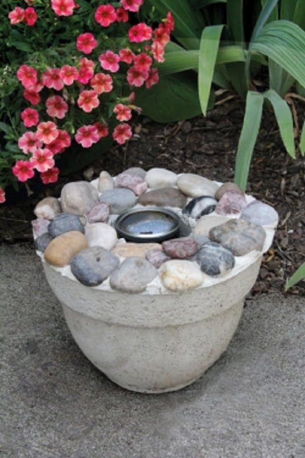 How to make a  burning bowl. Nice project idea for !