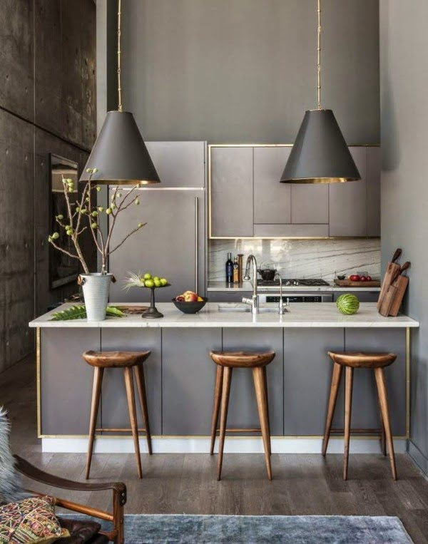 30 remarkable breakfast bar ideas for small kitchens