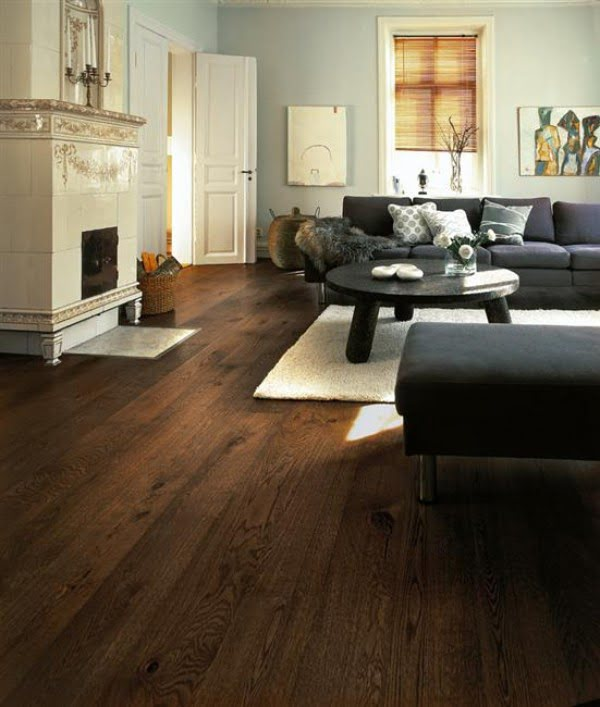 35+ Gorgeous Ideas of Dark Wood Floors That Look Amazing