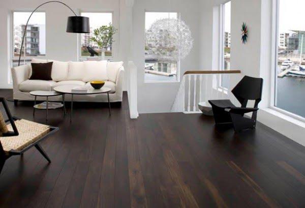 35+ Gorgeous Ideas of Dark Wood Floors That Look Amazing