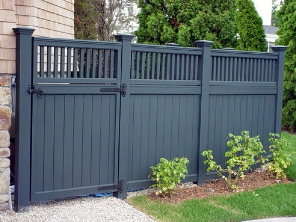 30+ Fancy Wooden Fence Styles and Designs (with Pictures) on Gate Color Ideas  id=53202