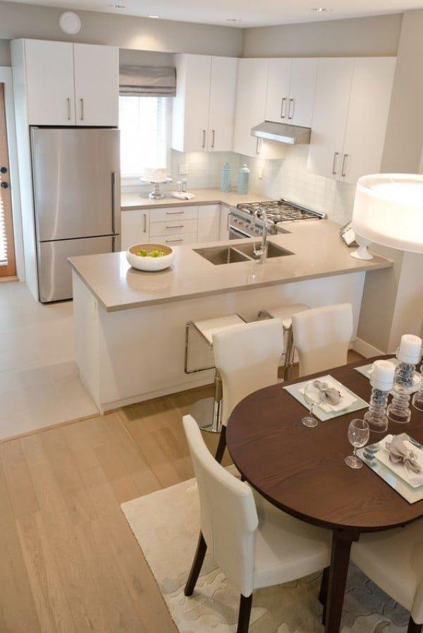 So simple but so elegant. This #kitchen rocks! #homedecor