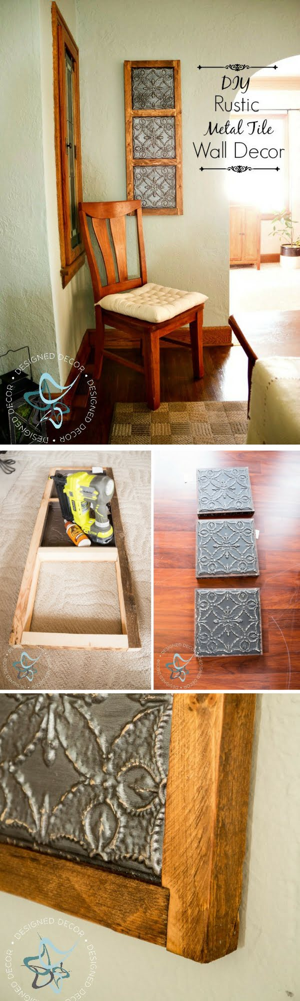 20 Crafty 2x4 DIY Projects That You Can Easily Make - Check out how to make DIY wooden wall decor from 2x4s