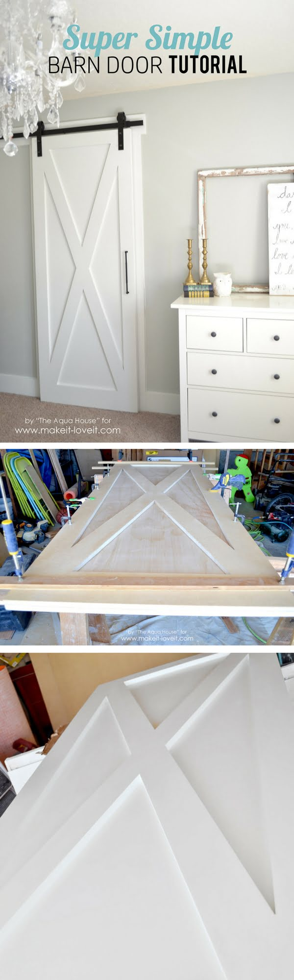 How to make simple DIY barn door