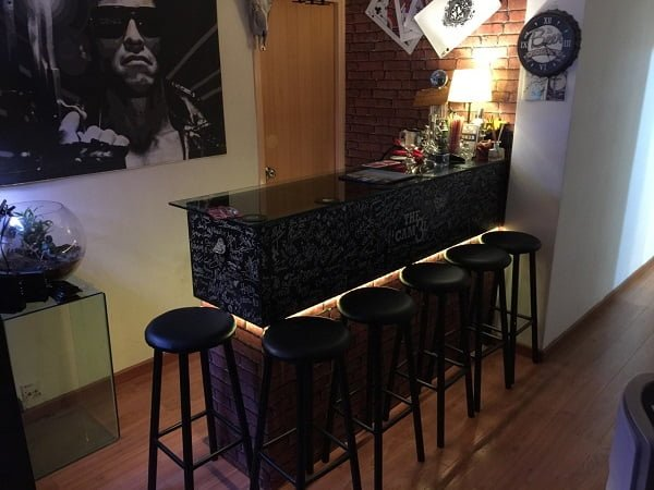 How to build a# DIY IKEA Kallex bar #homedecor