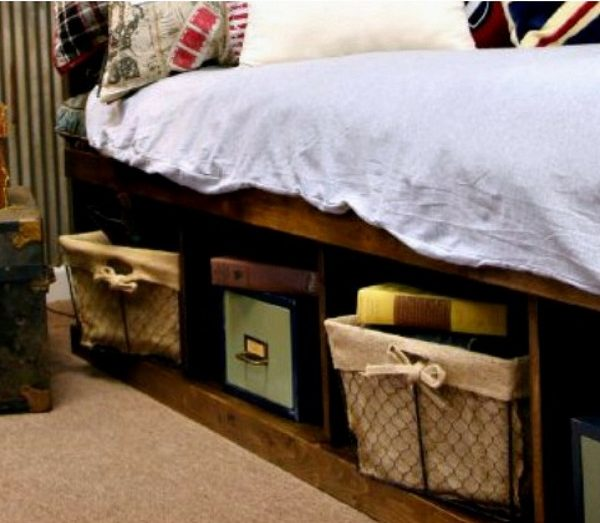 How to build a DIY platform storage bed