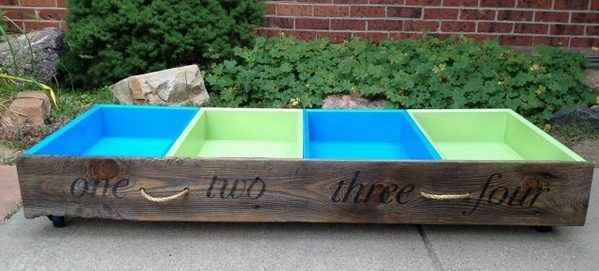 How to build DIY under the bed repurposed storage drawers