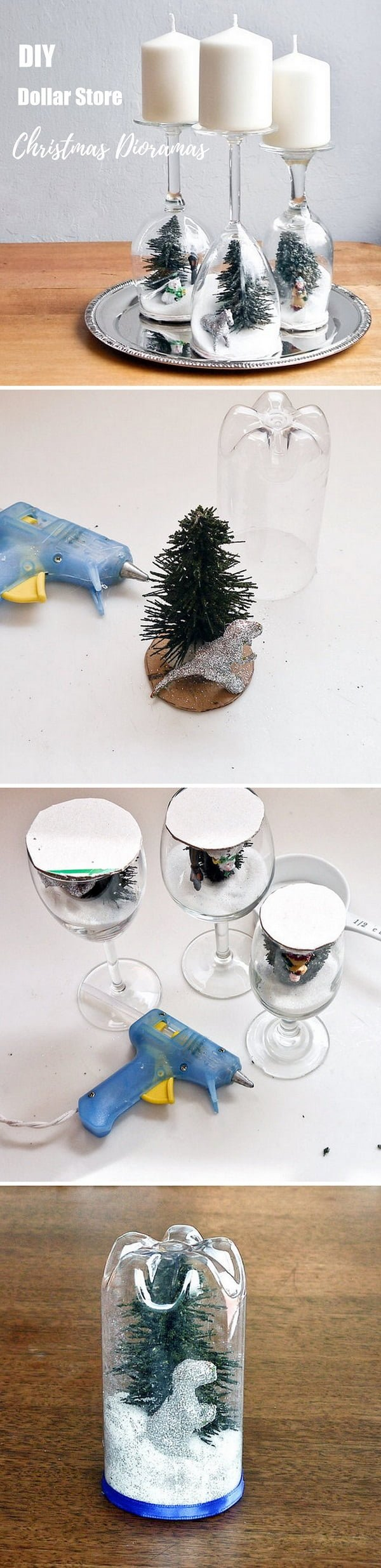 Check out this easy idea on how to make a   dioramas from  items
