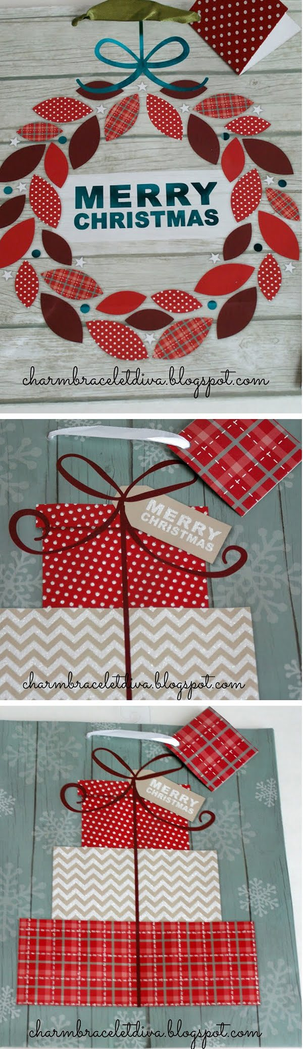 Check out this easy idea on how to make  wall decorations for  from  gift bags
