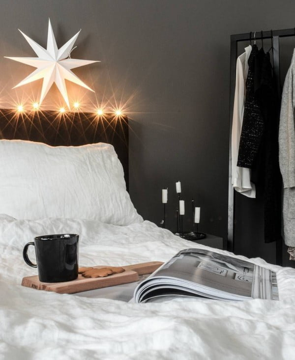 Love this  decor idea! So cozy...