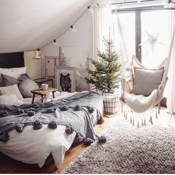 Macrame hammock in a ? Yes, please!