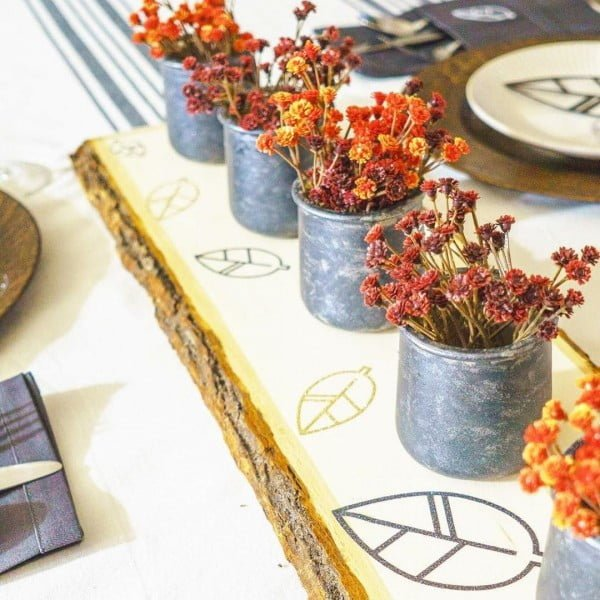 30 Cool Cricut Project Ideas That You Can Use in Home Decor - Love this  centerpiece