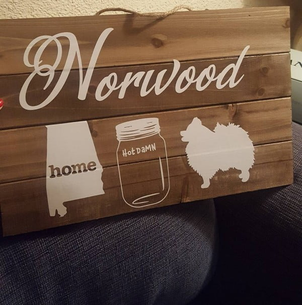 30 Cool Cricut Project Ideas That You Can Use in Home Decor - Love this   wall sign