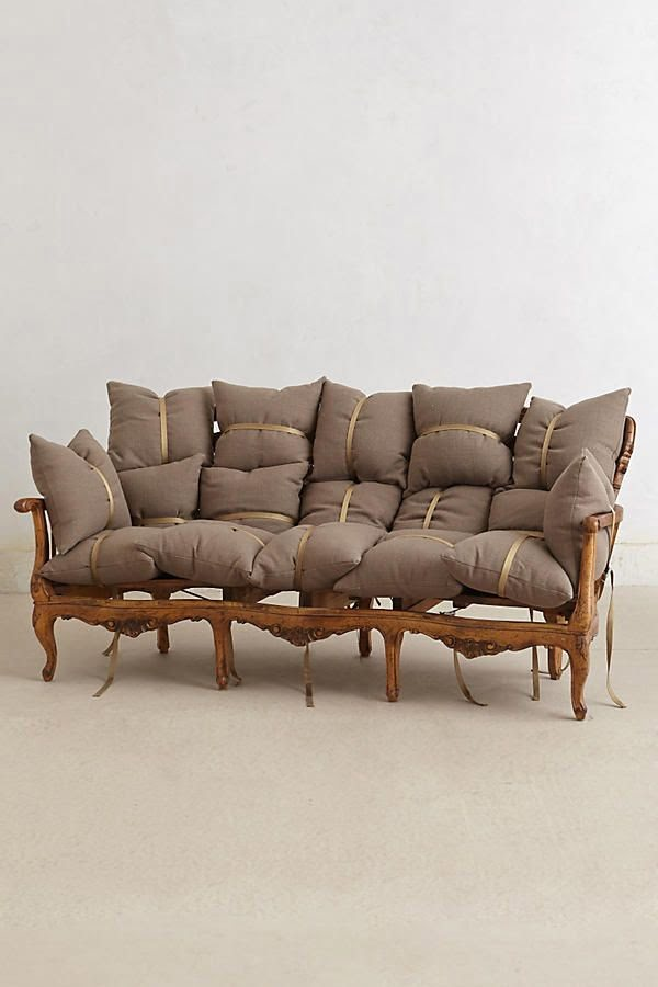 Anthropologie has this awesome  couch. It's a bit pricey though!