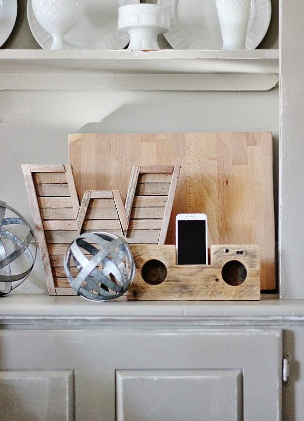 Check out this easy idea on how to make a   speaker that you can make and