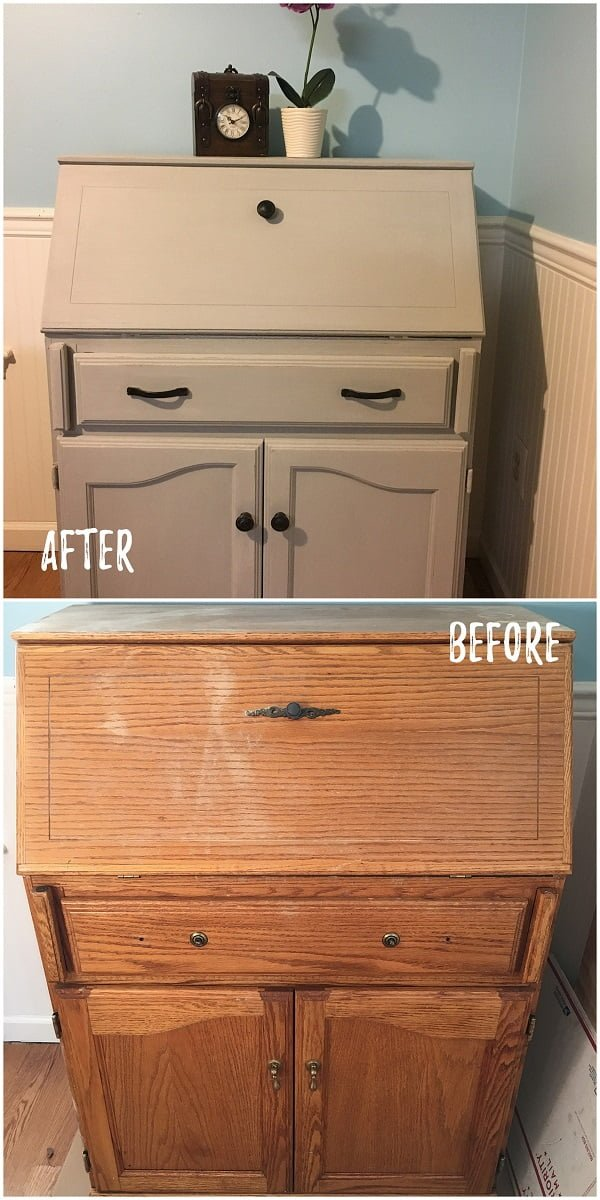 30 Most Impressive DIY Makeovers of Flea Market Finds - Check out this   flip of an old dresser makeover