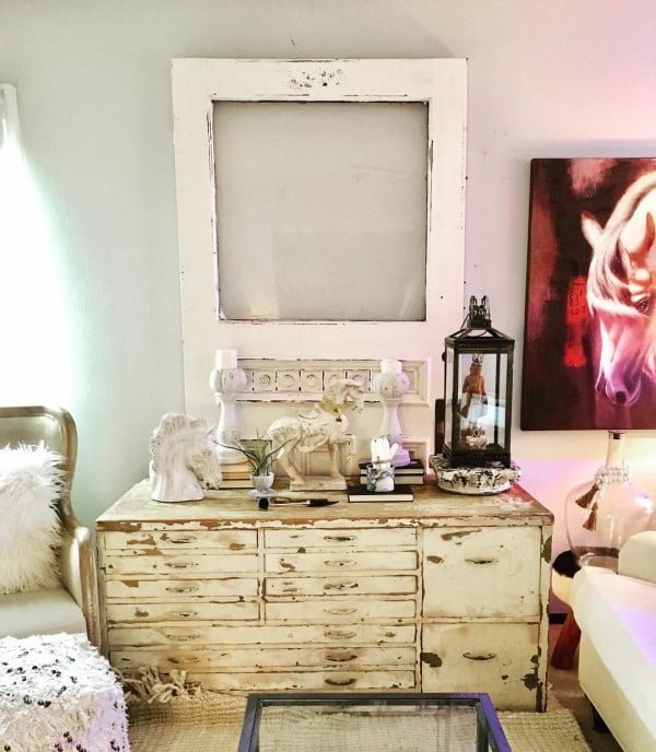 30 Most Impressive DIY Makeovers of Flea Market Finds - Check out this   flip of a shabby chic vintage dresser