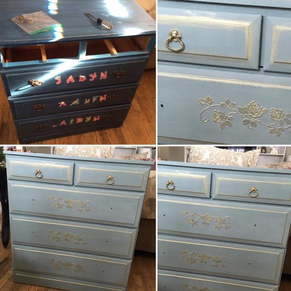 30 Most Impressive DIY Makeovers of Flea Market Finds - Check out this   flip of a vintage dresser